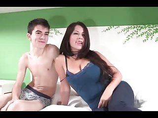 Spanish Big Boobs Milf With Very Young Boy