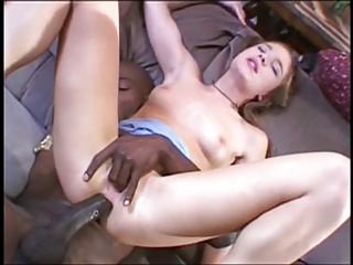 Randy Girl Getting Black Cock Anal