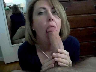 Mom Sucks Cock