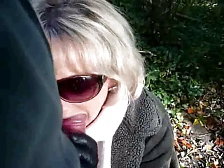 Outdoor BJ With Jasmine The Scottish Slut MILF