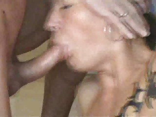 Trashy Granny Dirty Sex