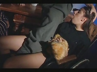 Fucking And Using A Blind Slut's Mouth And Ass