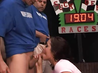 Blowjob Race – Blue Team