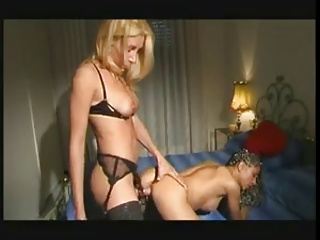 Blonde Trans Fuck A Chick