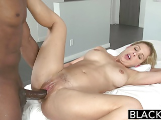 BLACKED Blonde MILF Cherie Deville Takes Big Black Cock