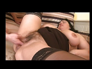 Hairy Granny Sucks And Squirts By TROC