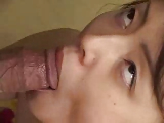 Japanese Mature Gives A Super Spitty BJ (Uncensored)
