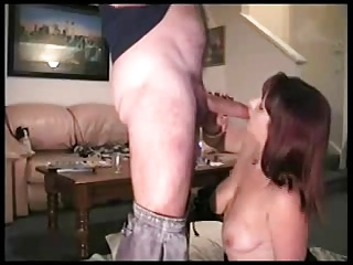 Hot Wife Gives Her Husband His Treat When He Comes Home