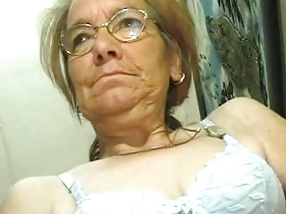 Scrawny Old Granny Does Like A Cock