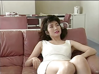 Japanese Mom Teaches Son's Friends About Sex