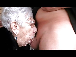 Grany Marge Gets Boy Cock For Her 90th Birthday