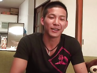 Asian Cutie Serviced By Gay Guys