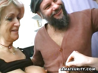 One Amateur Milf And One Teen Share One Cock With Facial Cum