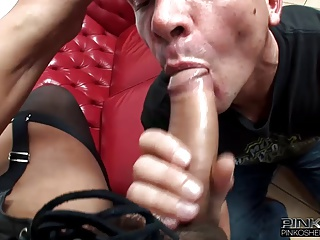 PinkO Shemales Fucking A Guy Up The Ass