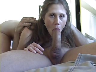 Sexy Young Teen Sucks And Swallows