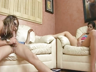 Watching Her Mom Getting Fucked