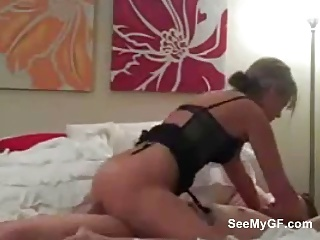 Amateur Girlfriend Giving Blowjob And Riding Her Boyfriend