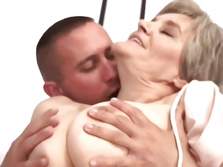 Old Mom Loves Young Boy…F70