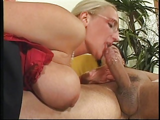 Big Tits & Big Cock In Action