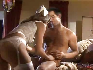 A Very Hot And Sexy Nurse  Working At  Night Fucking A Guy